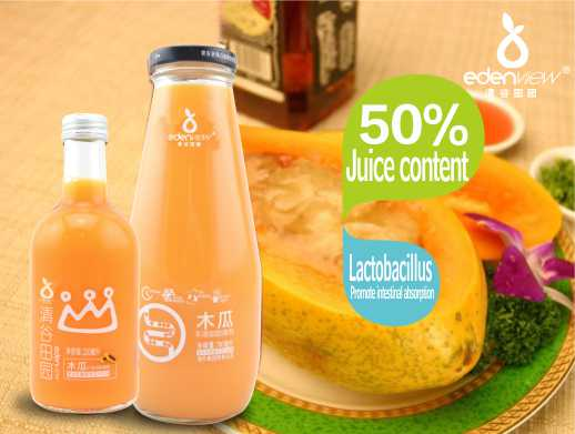 50% Compound lactic acid bacteria papaya juice