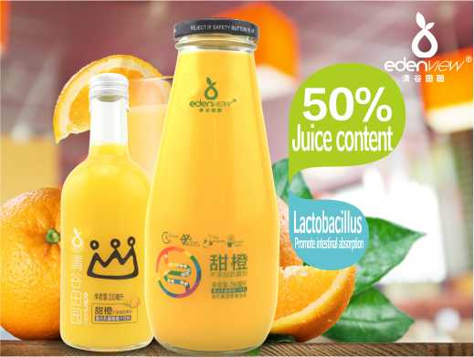 50% Compound lactic acid bacteria sweet orange juice